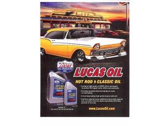 Lucas 20w 50 Hot Rod Classic Oil 5l Fraktfritt High
