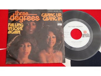 THREE DEGREES THE - FALLING IN LOVE AGAIN 1978 7""
