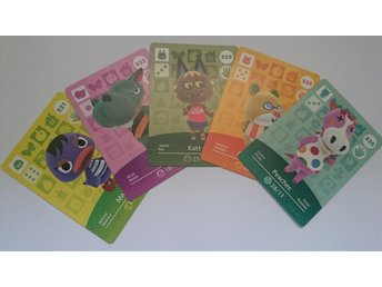 Animal Crossing Amiibo Cards series 4 Nr 321 - 325