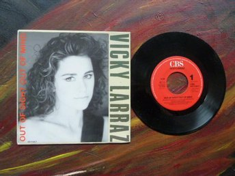 VICKY LARRAZ, OUT OF SIGHT OUT OF MIND, HIDE AND SEEK, MINI LP, LP-SKIVA