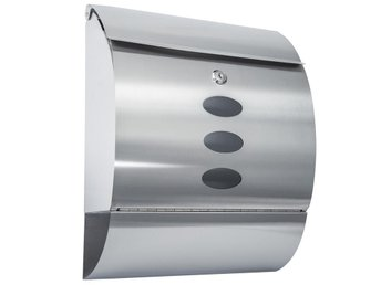 Stainless Steel Mailbox Letterbox Postbox Protective coating clear coating new