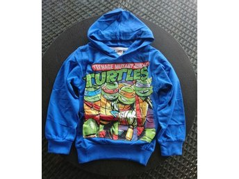 Luvtröja Teenage mutant ninja Turtles stl 130 ny