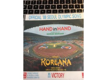 *Hand in Hand* .....1988......singel.......OFFICIAL 88 SEOUL OLYMPIC SONG.. - Norrköping - *Hand in Hand* .....1988......singel.......OFFICIAL 88 SEOUL OLYMPIC SONG.. - Norrköping