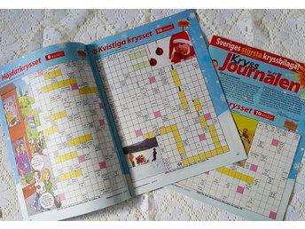 48 sidor kryss, sudoko knep å knåp / kryssjournalen (2015) - Kalix - 48 sidor kryss, sudoko knep å knåp / kryssjournalen (2015) - Kalix