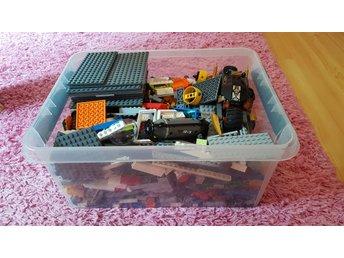 Blandat lego 3,7kg, bla star wars och polis - Vilshult - Blandat lego 3,7kg, bla star wars och polis - Vilshult