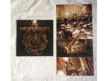 Meshuggah – The Ophidian Trek 2LP Limited Edition Swirled Gold