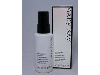 Javascript är inaktiverat. - Sumy - MARY KAY. Pore-Purifying Serum for Acne-Prone Skin, 50gThis translucent, silky serum is formulated to helpminimise future breakouts. The powerful moisturisingformula glides smoothly onto the skin, helpingminimise the appearance of pores and helping - Sumy