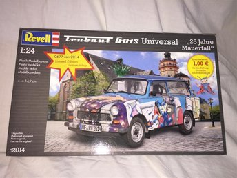 Revell 1/24 Trabant 601S Universial 25 Jahre Mauer Fall