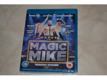Magic Mike (2012) Film Bluray Nyskick