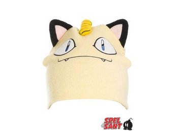 Pokemon Meowth Mössa Gul