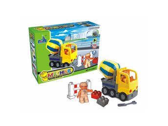 Maskinstadbyggare City Builder Toy Vehicles Bilar likt LEGO Leksaker - YY0801