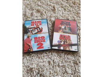 DVD filmer, 2st dubbel dvd, Big momma's house 1&2 + Date movie &  Epic movie