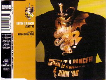 Snap-Rhythm is a dancer remix '96 (4 versioner) / CD-singel