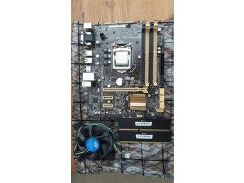 Javascript är inaktiverat. - Södertälje - Moderkort Socket 1150 med I7-4790 8gb DDR3 Corsair 1600 Mhz ram Nättagg Coolermaster 650W Intels orginal fläkt medföljer, detta är ett bra val för ett gaming paket Köp en SSD samt ett bra grafikkort så klarar du du dig länge. skicka - Södertälje