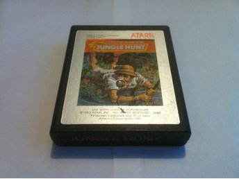 Atari 2600: Jungle Hunt (Endast kassett!)
