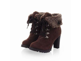 Dam Boots Pumps keep warm women boots ping Brown 41