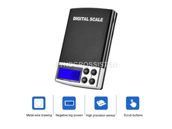 Digital Våg Pocket scale 0-1000g med 0.1grams noggrannhet Fri Frakt Ny