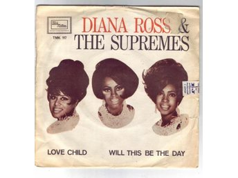 "Diana Ross & The Supremes - Love Child 1968 7"" Tamla Motown"