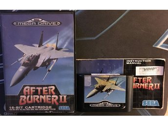After Burner II (SEGA MEGA Drive BEG! - PAL)