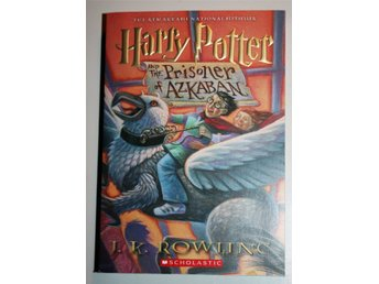 Ny oläst HARRY POTTER AND THE PRISONER OF AZKABAN J K Rowling Tryckt år 2001