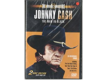DVD/CD Johnny Cash-The Man In Black