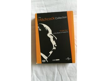 The Hitchcock Collection - The Early Years - 5 Discs - NYSKICK!!!