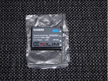 Casio NP-80 Original Batteri / NYTT