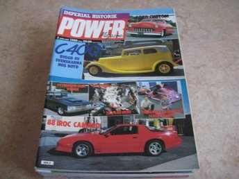 POWER NR 2 1988    PLYMOUTH BELVEDERE 426 MAX WEDGE -63 ,M.M