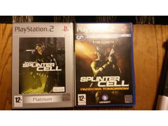 PS2 Tom Clancy´s Splintercell Platinium + Splintercell Pandora tomorrow