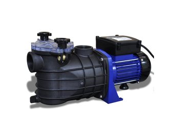 Poolpump elektrisk 500W blå
