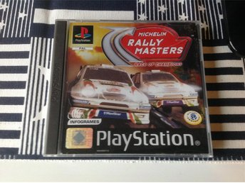 Rally Masters - Playstation 1 - PS1