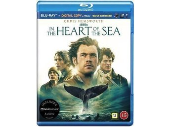 IN THE HEART OF THE SEA. NY OCH INPLASTAD PÅ BLU-RAY