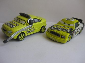 Cars Pixar Disney Bilar metall - Leakless team  CB18-21