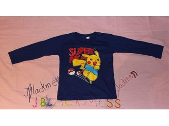 Långärmad Pokémon tröja för barn från Thailand (4-5år) - [Blå] - Göteborg - Långärmad Pokémon tröja för barn från Thailand (4-5år) - [Blå] - Göteborg