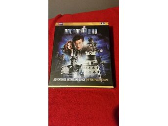 Doctor Who: Adventures in time and space game RPG från Cubicle 7