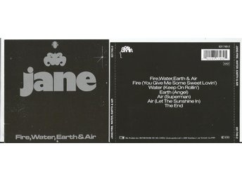 JANE - Fire, Water, Earth And Air (CD 1976) - Minsk - JANE - Fire, Water, Earth And Air (CD 1976) - Minsk
