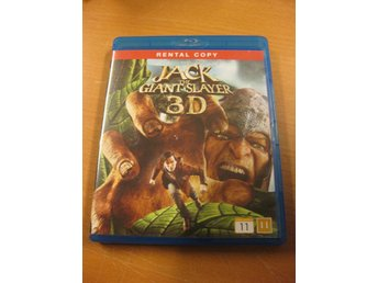 JACK THE GIANT SLAYER 3D - BLU-RAY 3D