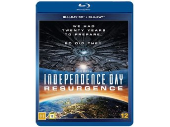Independence Day: Resurgence 3D+Blu-ray - Ny & Inplastad!