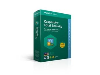 Kaspersky Total Security Multi Device 2018 3anv 1år Retail box