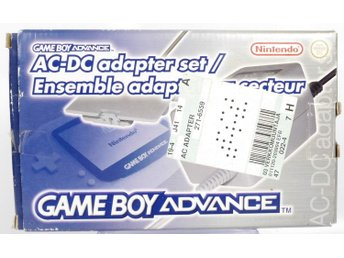 AC-DC Adapter Set For GBA -  - PAL (EU)