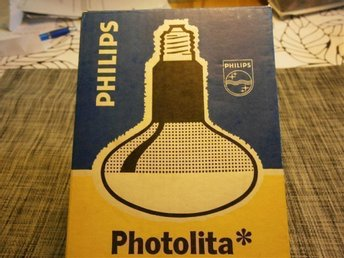 Fotolampa Photolita Philips RETRO