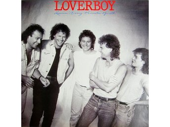 Loverboy - Lovin' Every Minute Of It (LP, vinyl)