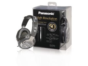 Panasonic Hörlurar Over-Ear 3.5 mm Silver