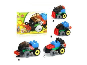 City Smart Bilar Brain Toys Vehicles likt LEGO Leksaker - YY0857