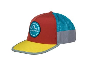 LA SPORTIVA FLAT HAT L/XL Cardinal Red/ Lemonade