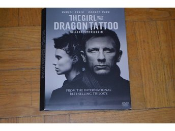 The Girl With The Dragon Tattoo (Daniel Craig, Rooney Mara) - DVD Paperbox