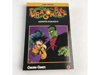 Bok, Dragon Ball 06, Akira Toriyama, Pocket, ISBN: 9789163818608, 2000