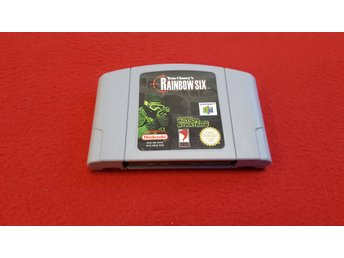 RAINBOW SIX till Nintendo 64 N64 TYSK TEXT
