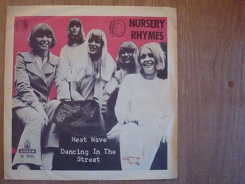 NURSERY RHYMES - ODEON SD 5994 / 7´´ SINGEL 1966 TJEJBAND POP STOCKHOLM