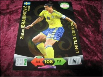 ZLATAN IBRAHIMOVIC-SVERIGE-LIMITED EDITION-ROAD TO 2014 FIFA WORLD CUP BRAZIL